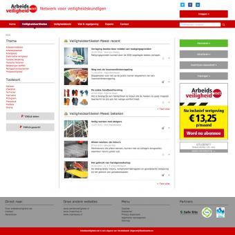 Drupal responsive website Arbo en veiligheid