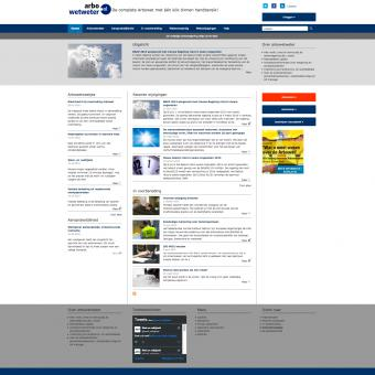 responsive drupal website met wetgeving