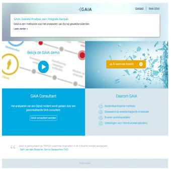 Webapplicatie voor TNO