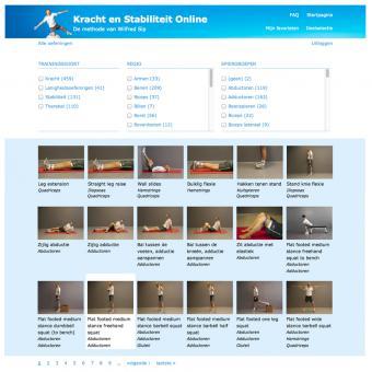 Drupal website webapplicatie databank