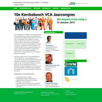 responsive drupal website voor studiedagen