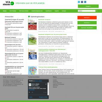 vca nieuws responsive drupal website