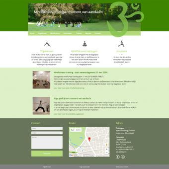 Yogamoment.net, een responsive drupal website
