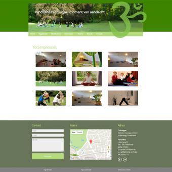 Yogamoment.net, een responsive drupal website