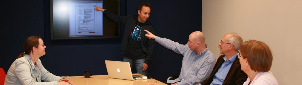 De Drupal experts van WebCoo in overleg